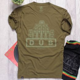 Dub Respect tee | olive