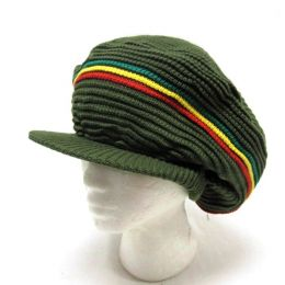 Irie Style Rasta Dread hat - olive