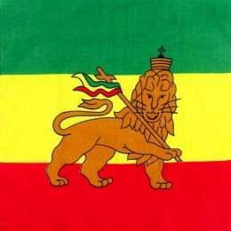 Chusta bandana - Lion of Judah / rasta