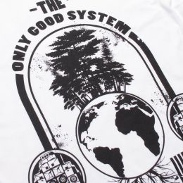 The Only Good System is an Ecosystem ladies tshirt