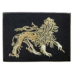 Lion of Judah / Black & Gold patch