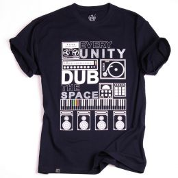 Tshirt Every Unity Dub The Space - granat
