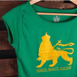 Lion Roots Reality Culture | damski tshirt
