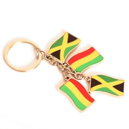 Jamaica, Rasta flags key ring