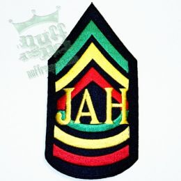 JAH patch - warrior style