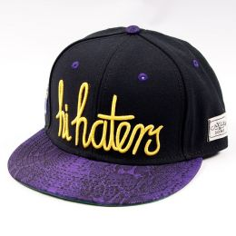 Snapback Cayler & Sons Hi Haters - black/purple snake/yellow