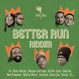 V/A Better Run - Riddim album - digipak