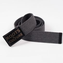 Roots & Culture cotton belt - gray