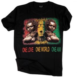 One Love One World One Aim  tshirt