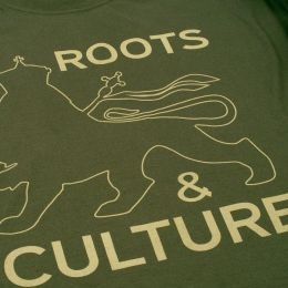 Roots & Culture tshirt - olive