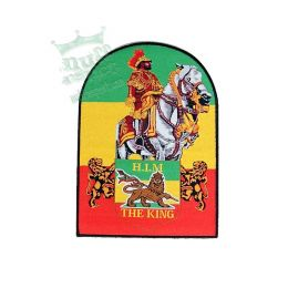 H.I.M.-The King rasta patch