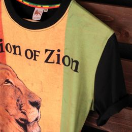 Lion of Zion Rasta t-shirt