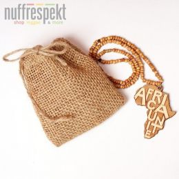 Wood necklace - Africa Unite