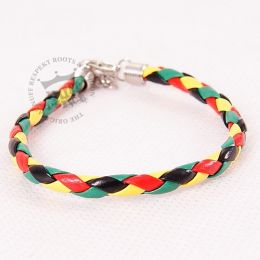 Bracelet - rasta colour