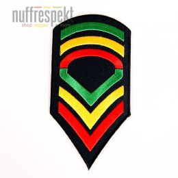 Jah soldier #2 patch