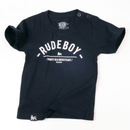 Baby tshirt | Rude Boy - navy