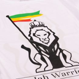 Jah Warrior Spiritual Revival  | Ladies tshirt - white
