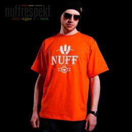 Nuff Wear tshirt - Spray 01613 - orange