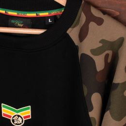 Dub Lion sweatshirt crewneck camo - Reggae Warrior