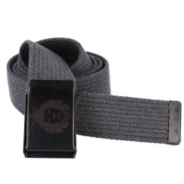 DubLion cotton belt - gray