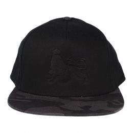 Lion of Judah snapback cap | Black & Camo