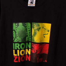 Top damski - Iron Lion Zion - czarna