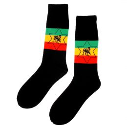 Rasta Lion Star Socks