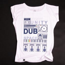 Ladies t-shirt - Every Unity Dub The Space