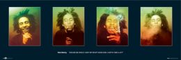 Bob Marley Faces poster - MD0051