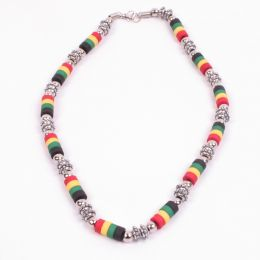 Rasta Bead Necklace