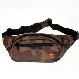 Dub Lion bum bag - camo
