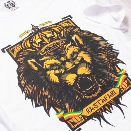 Rastafari t-shirt | white