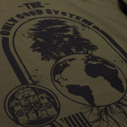 T-shirt The Only Good System is an Ecosystem | olive