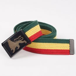 DubLion cotton rasta belt