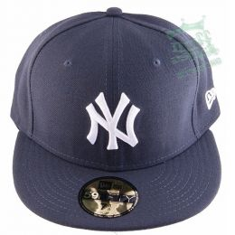 New Era Full Cap NY - MLB Basic graphite