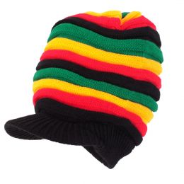 Rasta strips Dreadlock hat