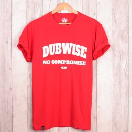 Dubwise No Compromise red t-shirt