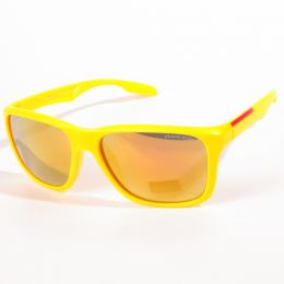 Nerd geek Sunglasses - yellow