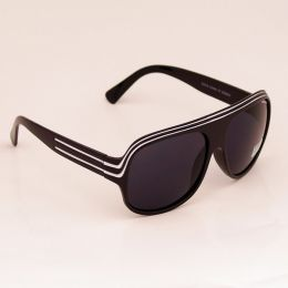 Modern aviator Sunglasses - black