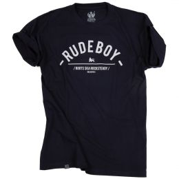 Rude Boy tee | navy