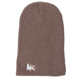 Beanie hat Lion of Judah | brown