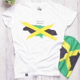 Tshirt damski Big Up Jamaica