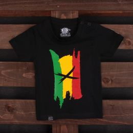 Kids Rasta tshirt | Reggae Colours