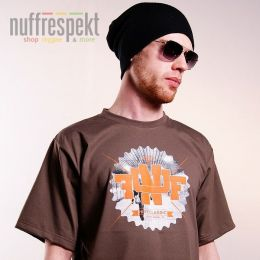 Tshirt Nuff College 0713 - brown