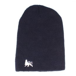Beanie hat Lion of Judah | navy