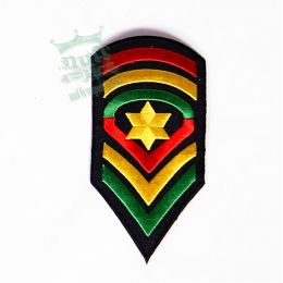 JAH soldier patch - warrior style