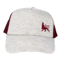 Lion of Judah adjustable cap | Gray / Burgundy
