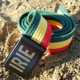 IRIE cotton Rasta belt