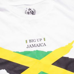 Big Up Jamaica  ladies tshirt