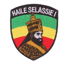 Haile Selassie I Ras tafari patch